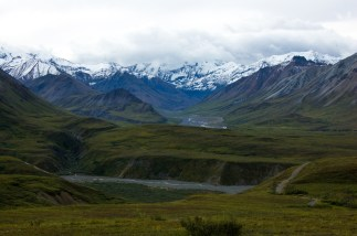 Mountain views in Denali National Park